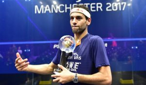 ElShorbagy excited to begin title defence in Chicago